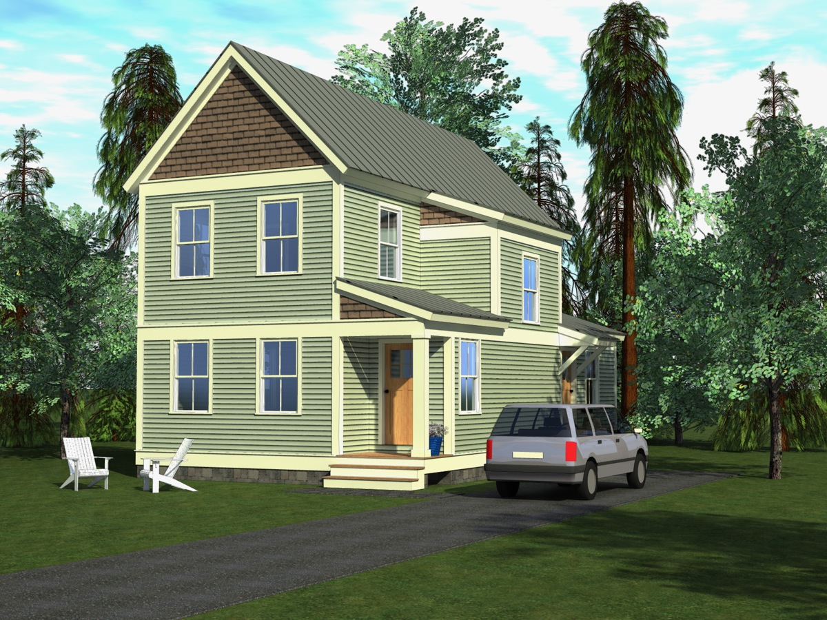 Badger and associates inc on the boards for Habitat home designs